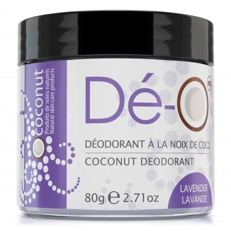Deodorant à la noix de coco / LAVENDE
