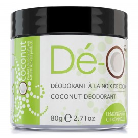 LEMONGRASS natural coconut deodorant